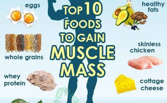 10 BEST FOODS TO GAIN MUSCLE