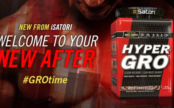 All New HYPER-GRO Lean Muscle