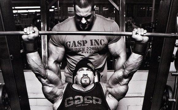Two big men