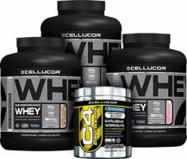 Cellucor Protein Supplement Stack