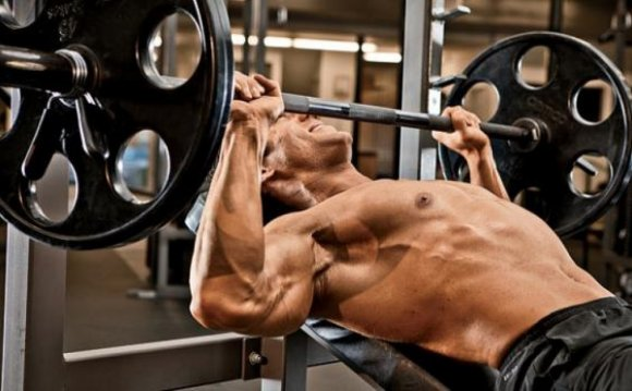 Muscle building chest workout