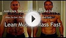 No Nonsense Muscle Building Workout Routine --Gain Lean