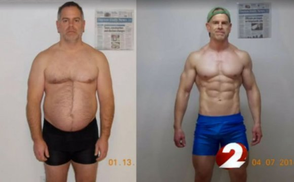 Weight loss and muscle gain